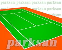 32-05 Akrilik Zemin Kaplama Uygulaması (Tenis Sahası)