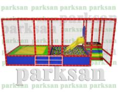 1243 - Aktiviteli Top Oyun Havuzu + Trambolin