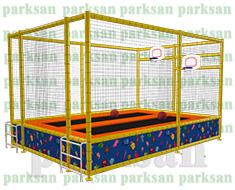 1272 - Basket Potalı Trambolin (ikili)