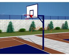 666 - Basketbol Potası Tek Direk