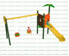 Çocuk Oyun Parkları - Park 050 (Minik Doğa Serisi)