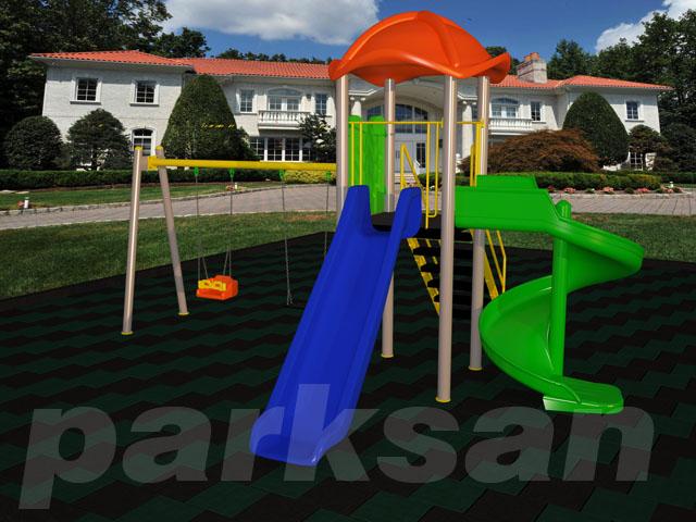 Çocuk Oyun Parkı - Park 157 (Ekonomik Seri)