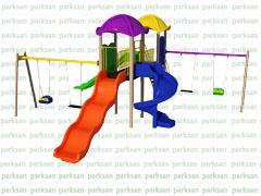 Çocuk Oyun Parkı - Park 162 (Ekonomik Seri)