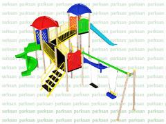 Çocuk Oyun Parkı - Park 166 (Ekonomik Seri)