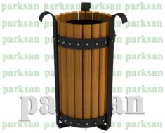 Dış Mekan Ahşap Çöp Kovası - 502