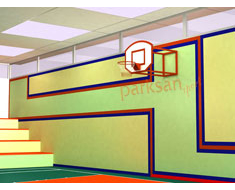 661- Duvara Monte Basketbol Potası
