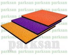 03-03 Epdm Yüzeyli Kauçuk Karo Zemin Kaplama Kare Modeli