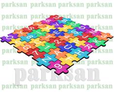 22. Epdm Yüzeyli Kauçuk Karo Yapboz Oyun Modeli