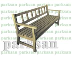 Oturma Bankı - Bank 433 (Ahşap Koltuk)
