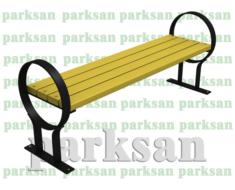 Oturma Bankı - Bank 409 (Metal Ayak)