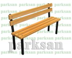 Oturma Bankı - Bank 412 (Metal Ayak)