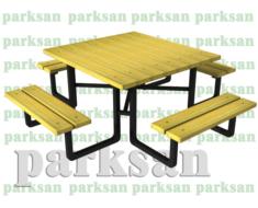 Piknik Masası - 439 (Metal Ayak)