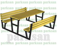 Piknik Masası - 447A (Metal Ayak)