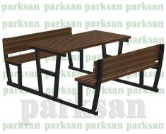 Piknik Masası - 447 (Metal Ayak)