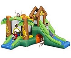 1122 - Şişme Oyun Parkı (Mutlu Hazine İkili Kaydırak)