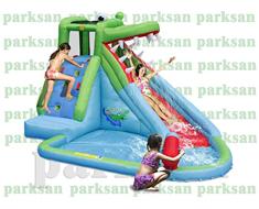 1151 - Şişme Oyun Parkı (Timsah Kaydıraklı Su Havuzu)