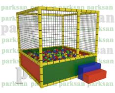 1232 - Top Oyun Havuzu Fileli (Soft Play)